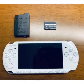 PlayStation Portable - 美品 psp-3000 パールホワイト