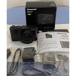 Panasonic - パナソニック コンパクトデジタルカメラ ルミックス DMC-TX1-K