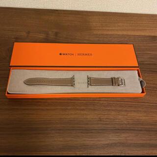 Hermes - Apple Watch エルメス ベルト エトゥープ 40mm用ベルト