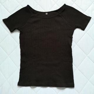 UNIQLO - ユニクロ バレエネックTシャツ