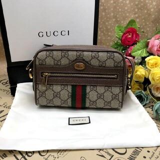 Gucci - グッチ ショルダーバッグ GGスプリーム シェリーライン
