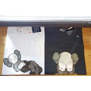 UNIQLO - XL ユニクロ KAWS コラボ Tシャツ 白黒セット ② 新品未使用