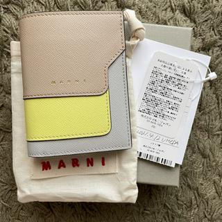 Marni - 新品未使用 MARNI 二つ折り財布
