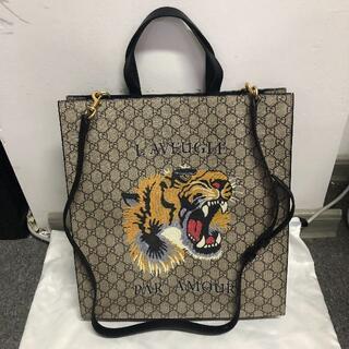 Gucci - グッチバッグGUCCI 2WAY 蛇 スネーク メンズ トートバッグ
