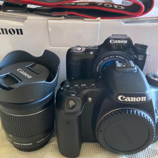 Canon - Canon 一眼レフ80D レンズキット