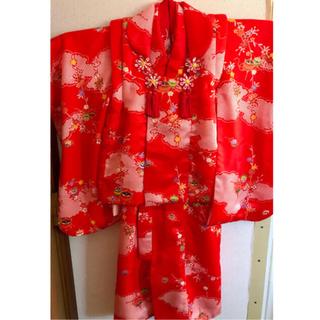 七五三着物セット 女の子3歳用(和服/着物)
