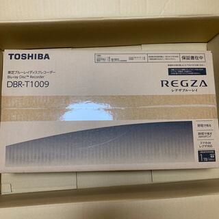 東芝 - 東芝 REGZA t-1009 Blu-rayレコーダー 3番組同時録画