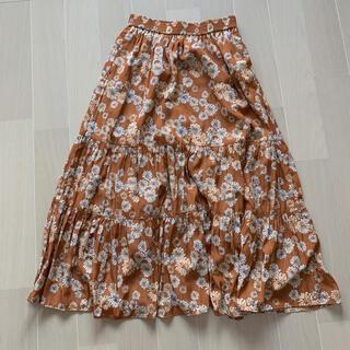 ユニクロ(UNIQLO)のUNIQLO PAUL&JOE 花柄ロングスカート(ロングスカート)