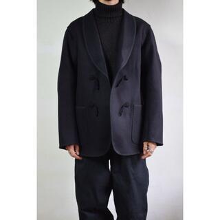 COMOLI - COMOLI (コモリ) メルトン スモーキングジャケット [NAVY]