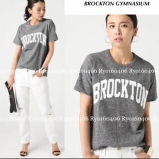 ドゥーズィエムクラス(DEUXIEME CLASSE)のDeuxieme classe ロゴTシャツグレー(Tシャツ(半袖/袖なし))