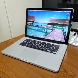 Apple - 美品 Macbook Pro 15インチ SSD128GB office付