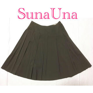 スーナウーナ(SunaUna)の美品☆ SunaUna(スーナウーナ)スカート☆38(ひざ丈スカート)