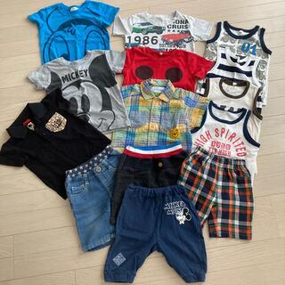 ニシマツヤ(西松屋)のベビー服セット(Tシャツ/カットソー)