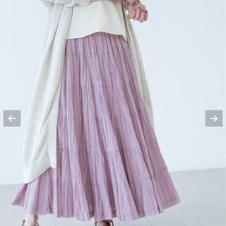 DEUXIEME CLASSE - 【MARIHA】草原の虹のスカート(パープル)