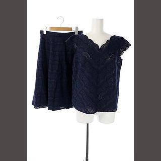 トッカ(TOCCA)のトッカ TOCCA PEACH BLOSSOM ブラウス カットソー スカート(カットソー(半袖/袖なし))