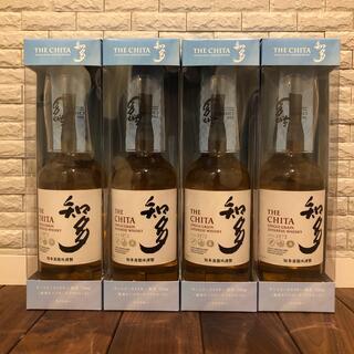 サントリー - サントリー 知多ウイスキー 4本セット グラス付き 送料無料