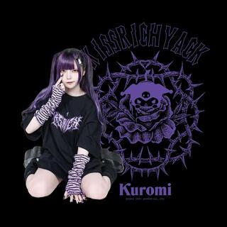 MILKBOY - KRY クロミ kuromi BIG Tシャツ ブラック サンリオ 新品未開封