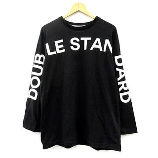 ダブルスタンダードクロージング(DOUBLE STANDARD CLOTHING)のダブルスタンダードクロージング ダブスタ カットソー 長袖 ロゴプリント F(Tシャツ/カットソー(七分/長袖))