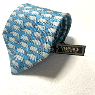 ジャンニヴェルサーチ(Gianni Versace)の【新品、未使用】VERSACE ヴェルサーチ ネクタイ 早い物勝ち(ネクタイ)