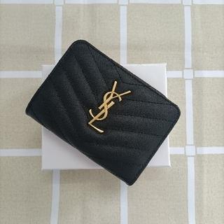 Yves Saint Laurent Beaute - ☆人気品♬サンローラン 二つ折り財布 コインケース