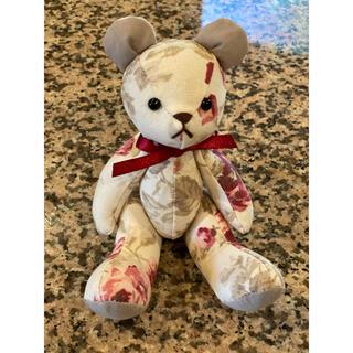 ローラアシュレイ(LAURA ASHLEY)のローラアシュレイ クマ ぬいぐるみ 花柄(ぬいぐるみ)