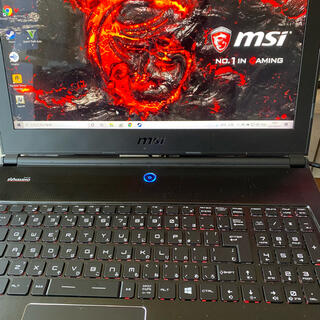 ゲーミングノートPC MSI GS60 2PE-472JP(i7 4710HQ)