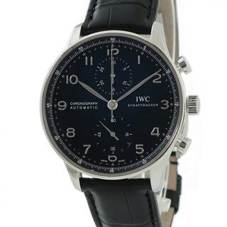インターナショナルウォッチカンパニー(IWC)のIWC  ポルトギーゼ クロノ IW371447 自動巻き メンズ 腕時(腕時計(アナログ))