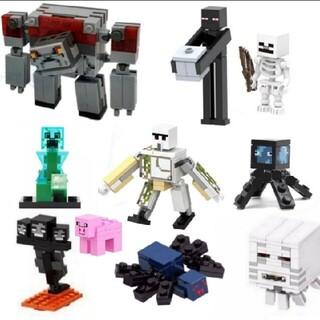 売り尽くしセール マインクラフト ミニフィグ10体 数量限定 レゴ互換
