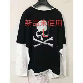 マスターマインドジャパン(mastermind JAPAN)のMastermind JAPAN マスターマインド  バック スカル レイヤード(Tシャツ/カットソー(七分/長袖))