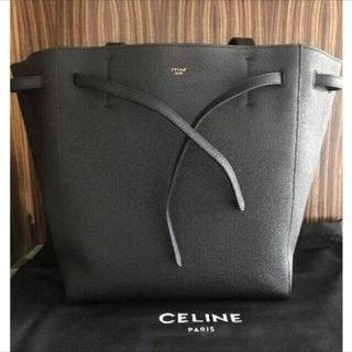 celine - CELINE カバファントム スモール トートバッグ ブラック