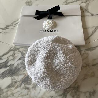 CHANEL - シャネルホワイトツイードベレー帽♡