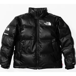 Supreme - Supreme x North Face Leather Nuptse Sサイズ