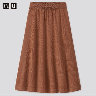 ユニクロ(UNIQLO)のメリノブレンドフレアスカート(ひざ丈スカート)