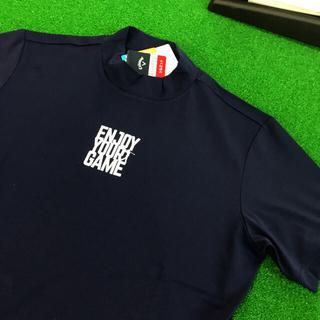 Callaway Golf - キャロウェイ  ゴルフ  人気モックネック ドライシャツ サイズM