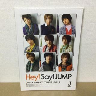 ヘイセイジャンプ(Hey! Say! JUMP)のHey!Say!JUMP ASIA FIRST TOUR 2012 パンフレット(アイドルグッズ)