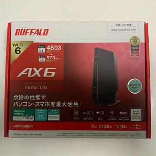 バッファロー(Buffalo)のバッファロー WSR-5400AX6S-MB 無線LANルーター(PC周辺機器)