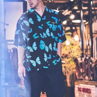 WACKO MARIA - MSML アロハシャツ butterfly alohashirt