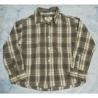ニシマツヤ(西松屋)の限定お値引き中♡西松屋 子供用 キッズ チェック シャツ(Tシャツ/カットソー)