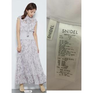 snidel - SNIDEL  スナイデル ウエストリブプリーツワンピース