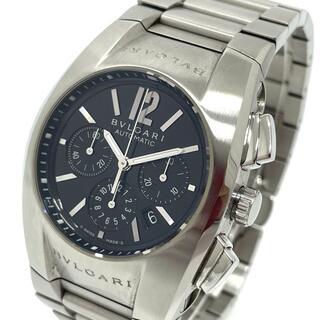 ブルガリ(BVLGARI)のブルガリ EG35SCH クロノグラフ デイト エルゴン 自動巻き 腕時計(腕時計(アナログ))