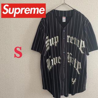 Supreme - supreme ベースボールシャツ S