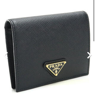 PRADA - プラダ PRADA 2つ折り財布 ブランド財布 ミニ財布 コンパクト財布