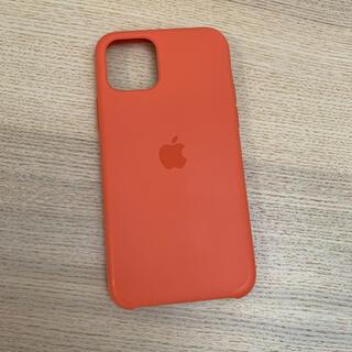 Apple - iPhone 11Pro 純正 シリコンケース オレンジ Apple
