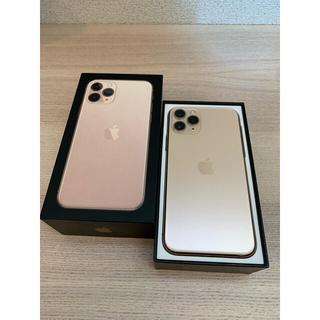 iPhone - iPhone11Pro ゴールド 256 GB SIMフリー バッテリー100%