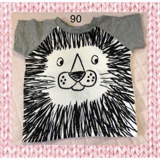 ニシマツヤ(西松屋)の半袖Tシャツ ライオン 90cm(Tシャツ/カットソー)