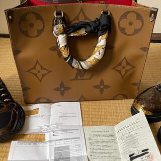 LOUIS VUITTON - ルイヴィトン オンザゴーGM 極美品‼︎鑑定書付き‼︎ 返金保障します。