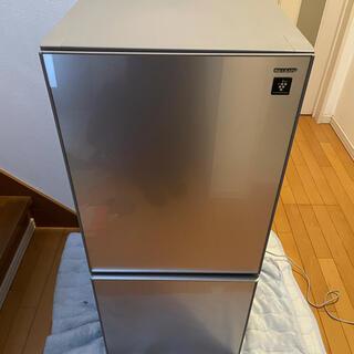 SHARP - (神奈川、東京配送無料)シャープ プラスマクラスター 冷蔵庫