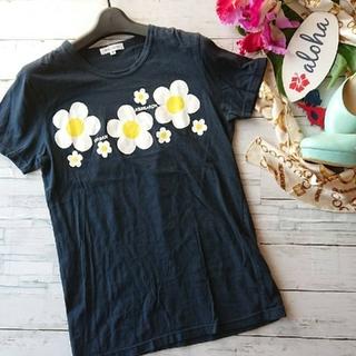 アーバンリサーチ(URBAN RESEARCH)の美品!URBANRESEARCH☆ブランドロゴ×花柄プリント☆Tシャツ(Tシャツ(半袖/袖なし))