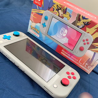 Nintendo Switch - 任天堂 Switch Lite ザシアン ザマゼンタ