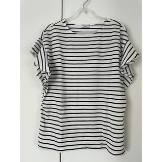 エニィファム(anyFAM)のタグなし未着用 ボーダー Tシャツ(Tシャツ(半袖/袖なし))